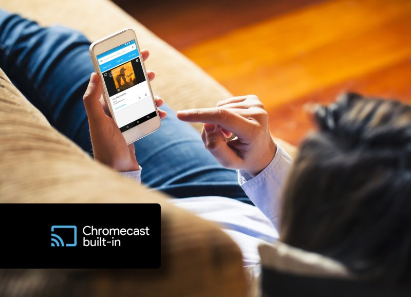 Music Made Easy with Chromecast built-in