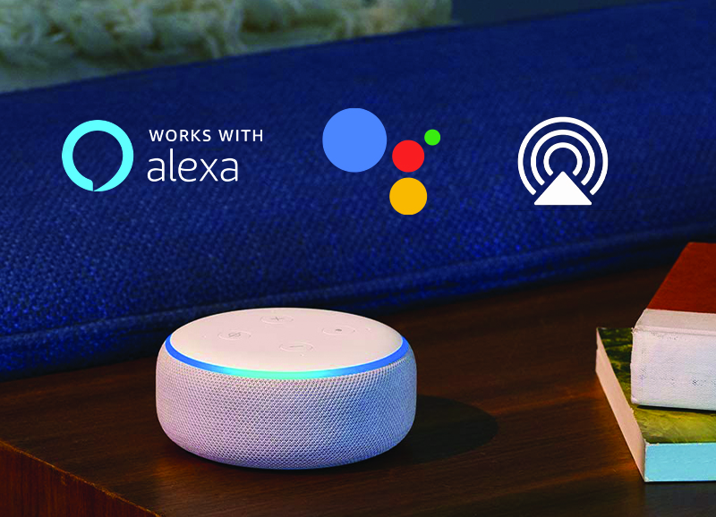 SMART HOME COMPATIBLE WITH VOICE CONTROL