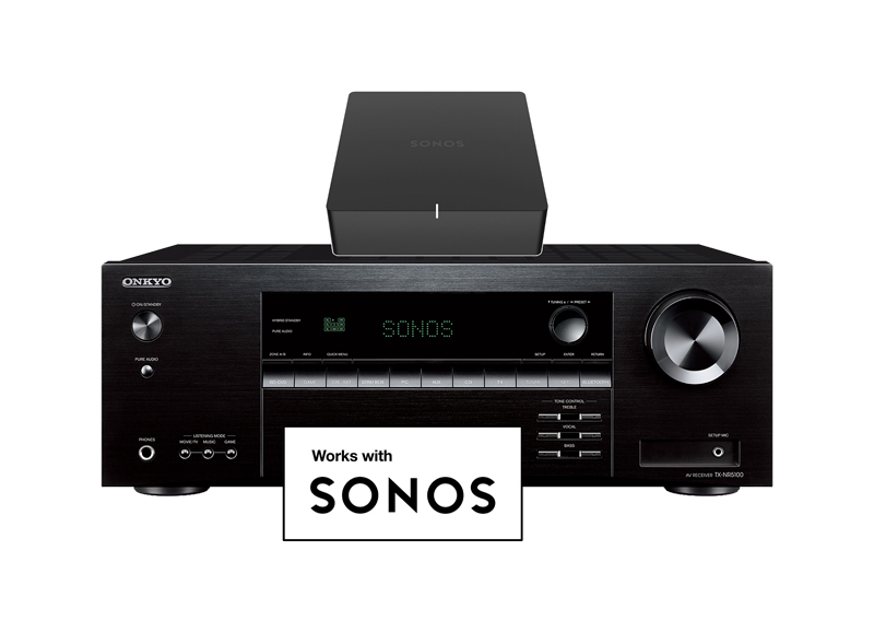 WORKS WITH SONOS CERTIFIED